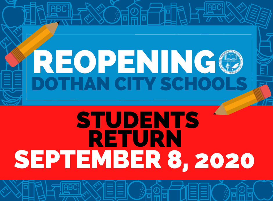 UPDATE: Students Return September 8, 2020