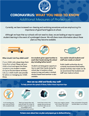 This is the second sheet of the infograph to protect yourself from the virus