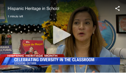 Dothan teacher celebrates diversity with Hispanic Heritage lessons